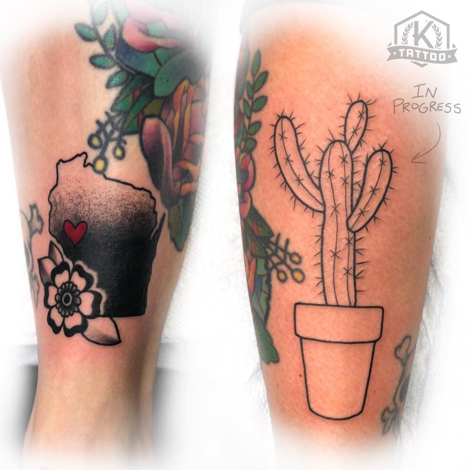 blackandgrey_wisconsin_flower_cactus