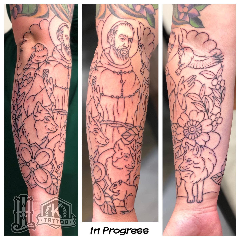 inprogress_St_Francis_Keeper_of_animals